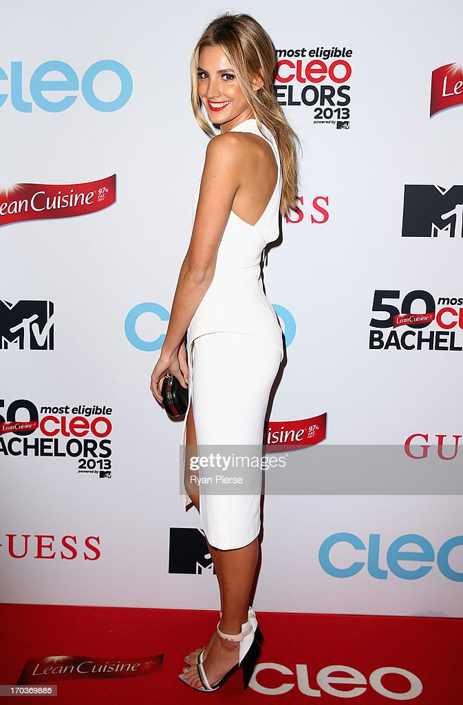Laura Dundovic arrives at the CLEO Bachelor of the Year Awards on June 12, 2013 in Sydney, Australia.