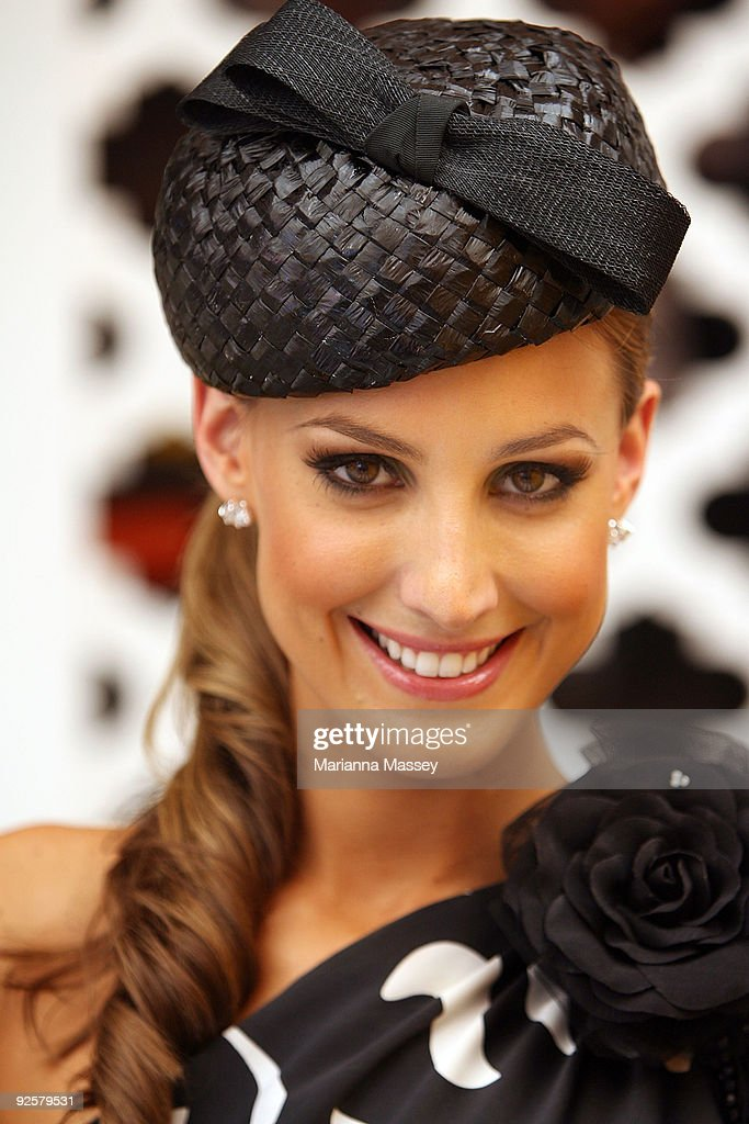 Celebrities Attend AAMI Victoria Derby Day 2009