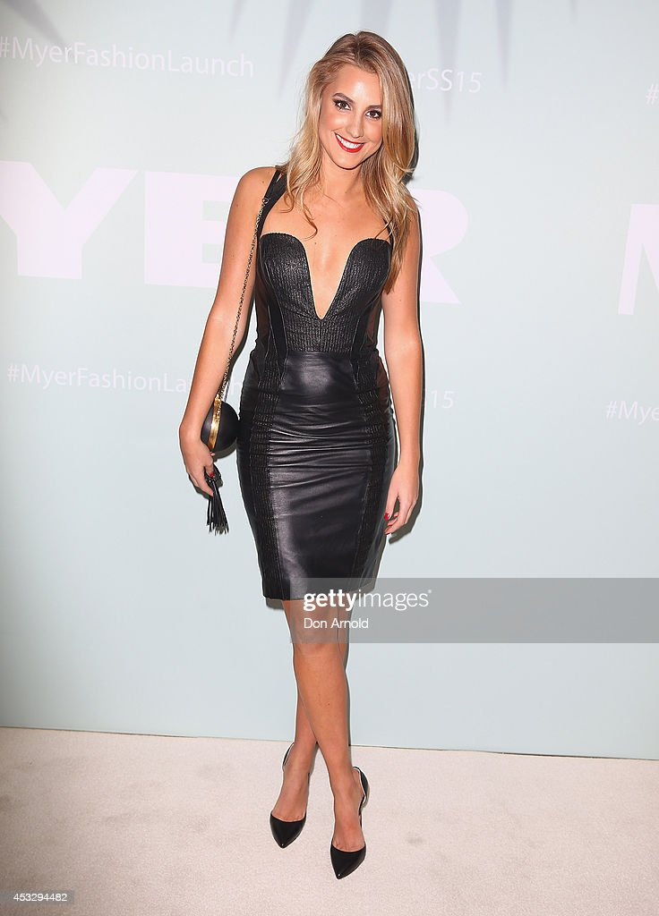 <a gi-track='captionPersonalityLinkClicked' href=/galleries/search?phrase=Laura+Dundovic&family=editorial&specificpeople=4206172 ng-click='$event.stopPropagation()'>Laura Dundovic</a> arrives at the Myer Spring Summer 2014 Fashion Launch at Carriageworks on August 7, 2014 in Sydney, Australia.