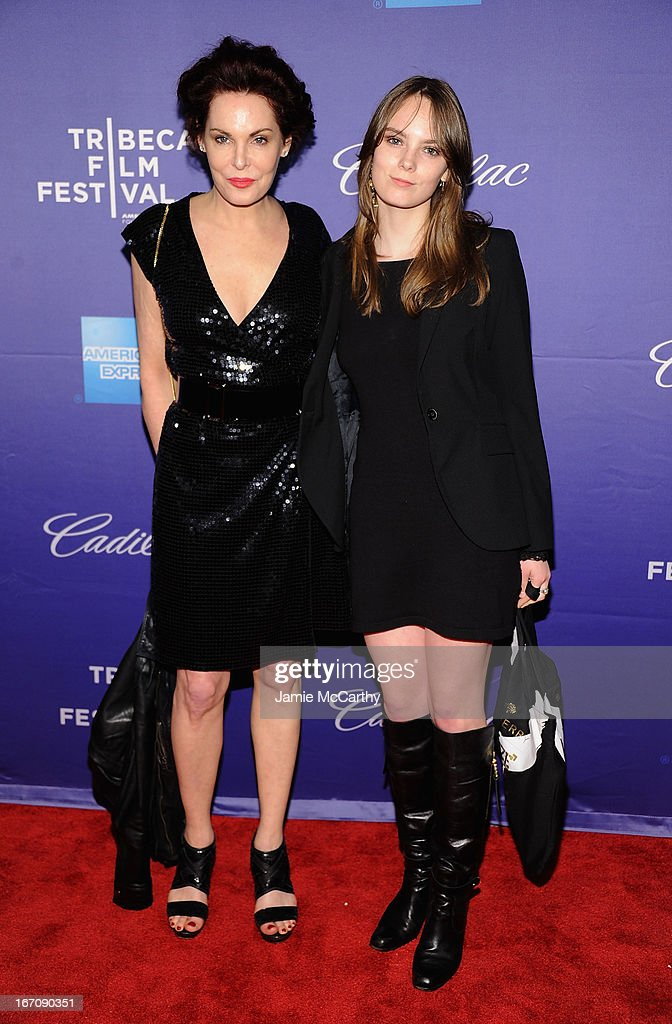 Laura Eastwood and Graylen Eastwood attend the screening of 'In God We Trust' during the 2013 Tribeca Film Festival at SVA Theater on April 19, 2013 in New York City.