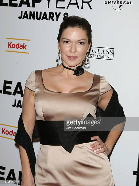 Laura Elena Harring attends the premiere of 'Leap Year' at the Directors Guild Theatre on January 6 2010 in New York City