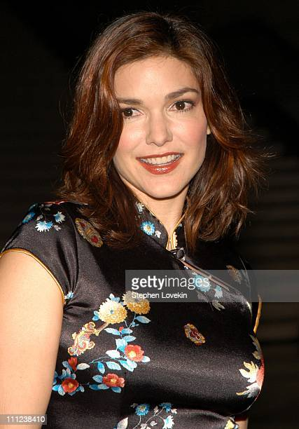 Laura Elena Harring during The 2003 Gala Preview of the New York International Auto Show at The Jacob Javits Center in New York City NY United States