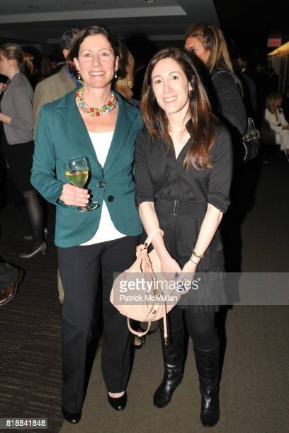 Laura Elkind and Amanda Britzker attend TIME INC Live and Unfiltered Presents ROUGH JUSTICE Hosted by FORTUNE at Time and Life Building Screening...