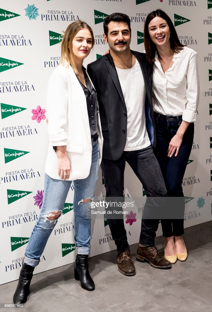 'El Corte Ingles' Spring Photocall in Madrid
