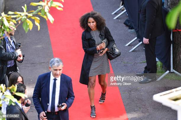 Laura Georges of PSG during the ceremony for the UNFP Trophy Awards on May 15 2017 in Paris France