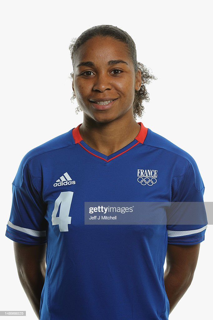 France Women's Official Olympic Football Team Portraits