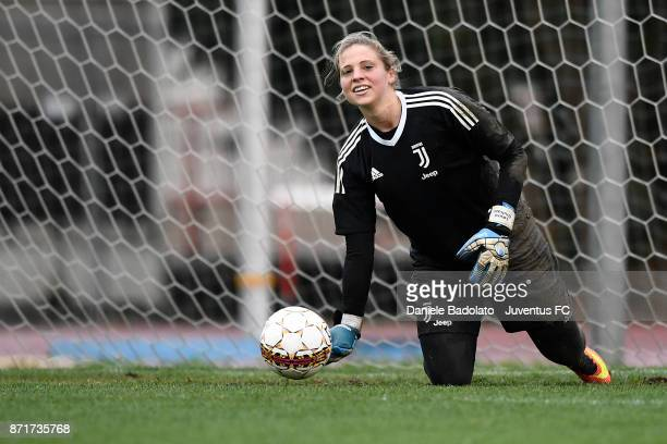 Laura Giuliani in action during the Juventus women training session on November 8 2017 in Turin Italy