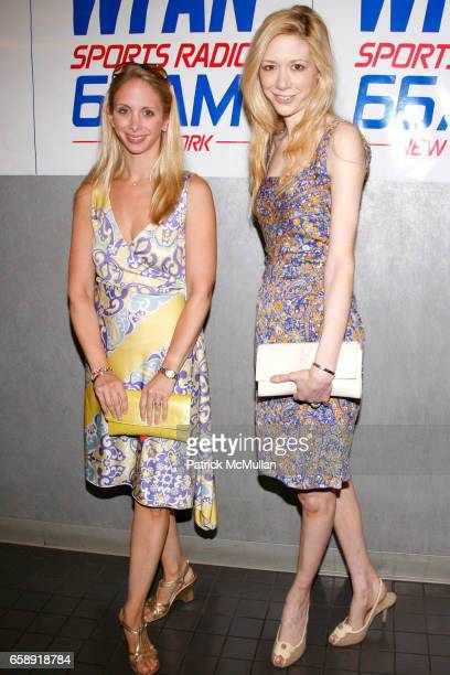 Laura Glazier and Melissa Berkelhammer attend BIG FAN Premier and Afterparty at Headquarters at 552 W 38th St on August 25 2009 in New York City