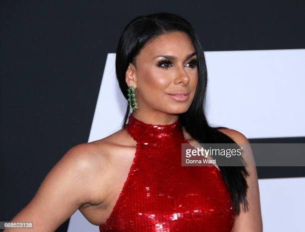 Laura Goan attends 'The Fate of The Furious' New York Premiere at Radio City Music Hall on April 8 2017 in New York City