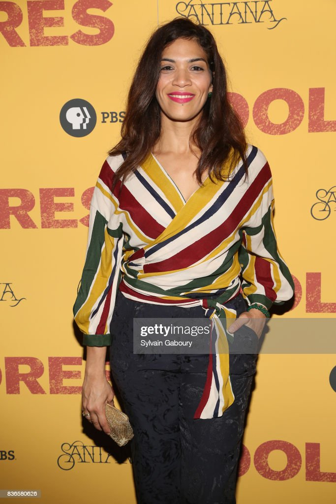 Laura Gomez attends 'Dolores' New York Premiere at Metrograph on August 21, 2017 in New York City.