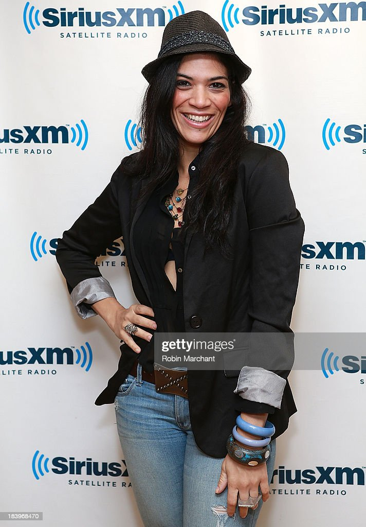 Laura Gomez visits at SiriusXM Studios on October 10, 2013 in New York City.