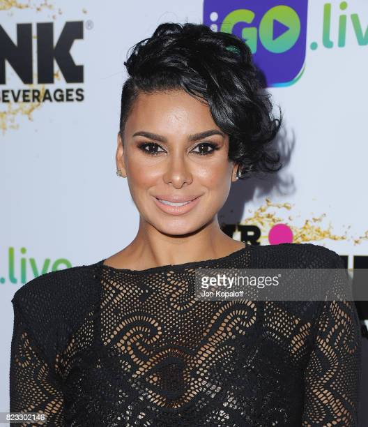 Laura Govan arrives at iGolive Launch Event at the Beverly Wilshire Four Seasons Hotel on July 26 2017 in Beverly Hills California