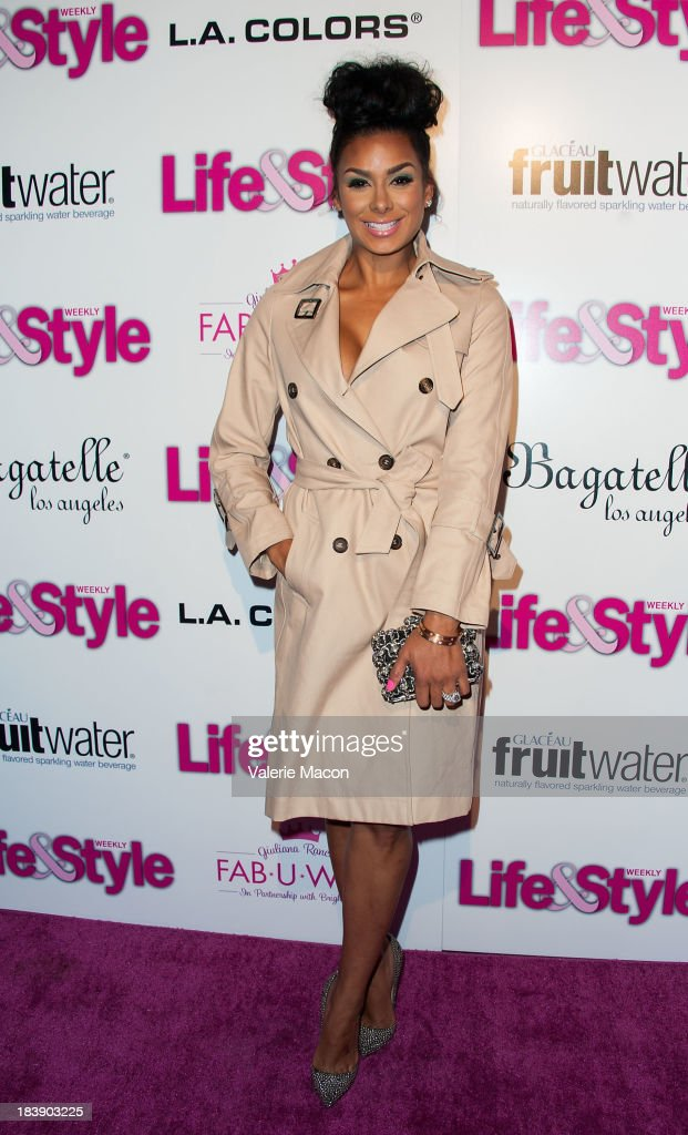 <a gi-track='captionPersonalityLinkClicked' href=/galleries/search?phrase=Laura+Govan&family=editorial&specificpeople=7646866 ng-click='$event.stopPropagation()'>Laura Govan</a> arrives at Life & Style's Hollywood In Bright Pink Event Hosted By Giuliana Rancic at Bagatelle on October 9, 2013 in Los Angeles, California.
