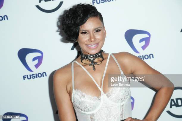 Laura Govan arrives at the 2nd Annual All Def Movie Awards at Belasco Theatre on February 22 2017 in Los Angeles California
