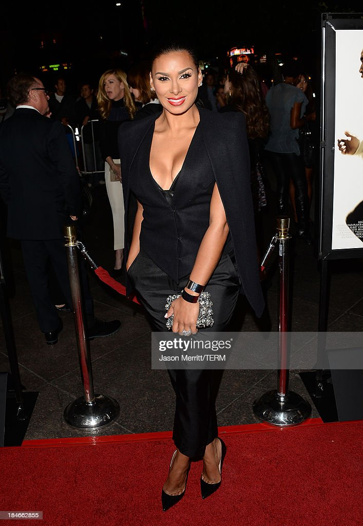 Laura Govan arrives at the Los Angeles premiere of '12 Years A Slave' at Directors Guild Of America on October 14, 2013 in Los Angeles, California.