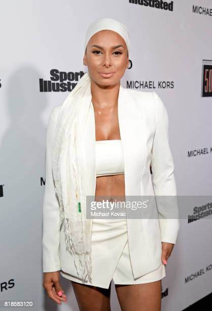 Laura Govan at Sports Illustrated 2017 Fashionable 50 Celebration at Avenue on July 18 2017 in Los Angeles California