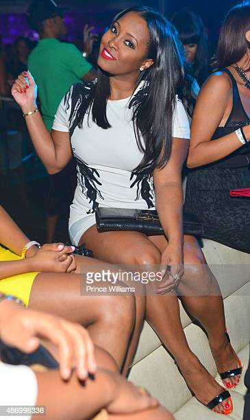 Laura Govan attends 'Black Hollywood' at Prive on September 4 2015 in Atlanta United States