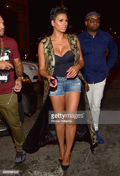 Laura Govan attends 'Black Hollywood' at Prive on September 4 2015 in Atlanta United States