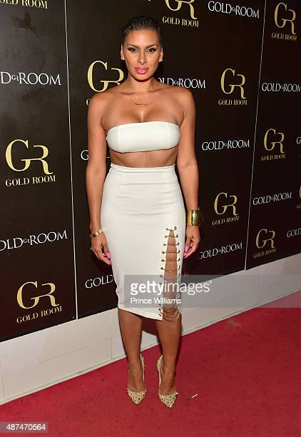 Laura Govan attends LudaDay weekend finale party at the Gold Room on September 6 2015 in Atlanta United States