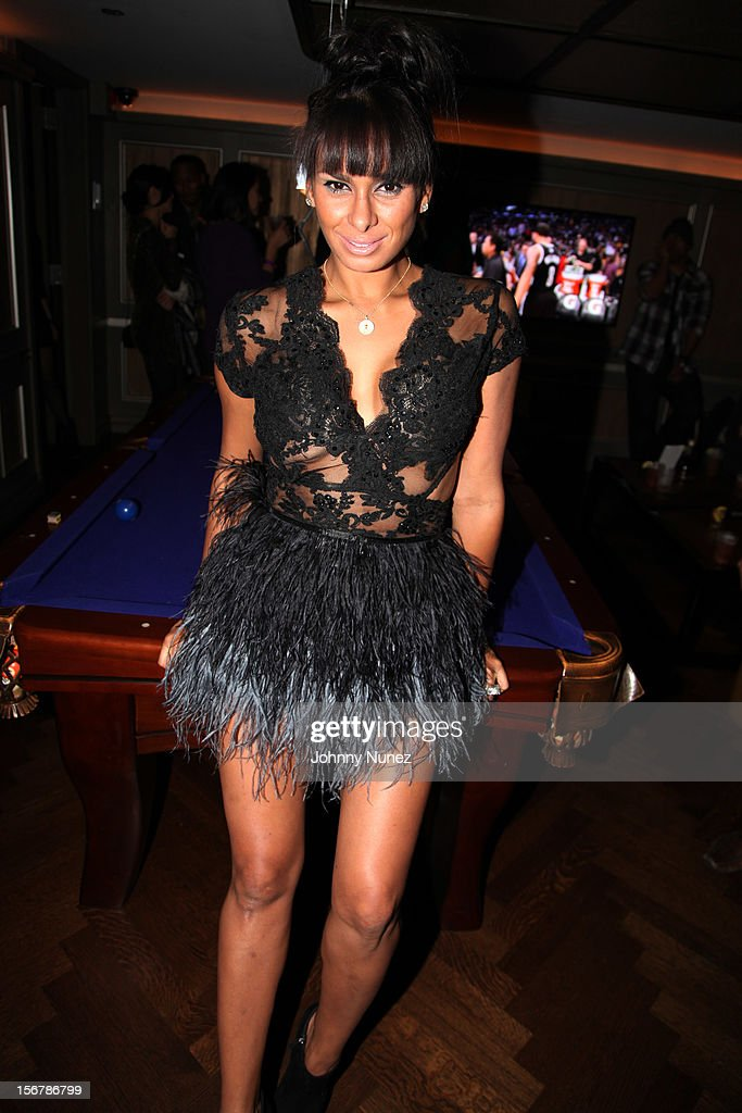 Laura Govan attends Rihanna's 'Unapologetic' Record Release Party at 40 / 40 Club on November 20, 2012 in New York City.