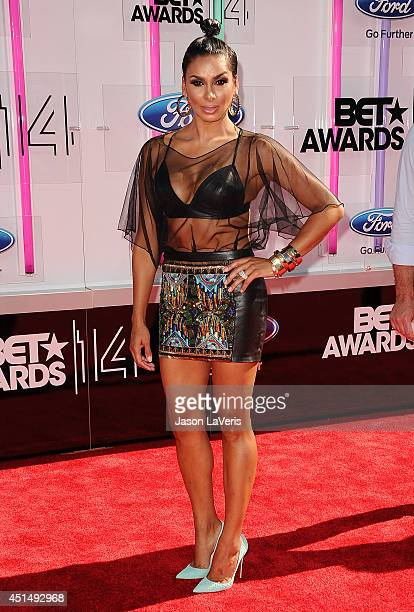 Laura Govan attends the 2014 BET Awards at Nokia Plaza LA LIVE on June 29 2014 in Los Angeles California