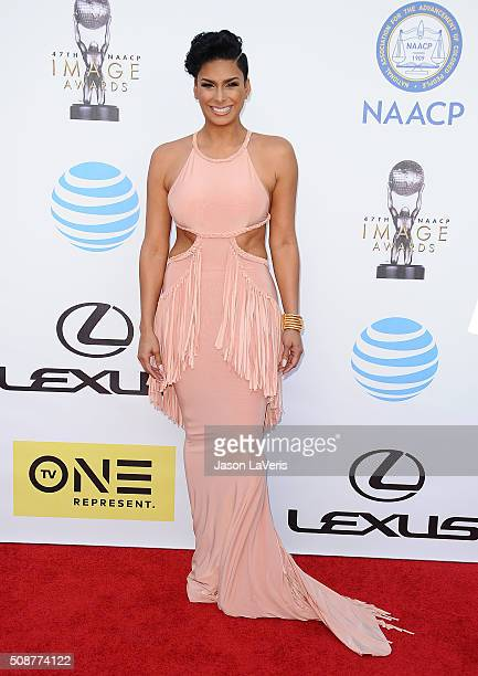 Laura Govan attends the 47th NAACP Image Awards at Pasadena Civic Auditorium on February 5 2016 in Pasadena California