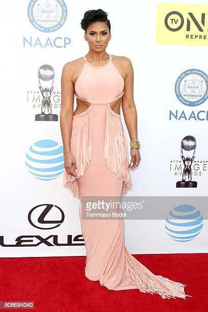 Laura Govan attends the 47th NAACP Image Awards held at Pasadena Civic Auditorium on February 5 2016 in Pasadena California