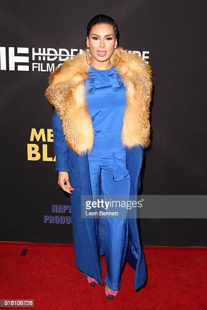 Laura Govan attends the Premiere Of Freestyle Releasing's 'Meet The Blacks' at ArcLight Hollywood on March 29 2016 in Hollywood California