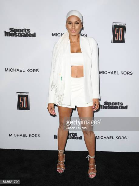 Laura Govan attends the Sports Illustrated Fashionable 50 event at Avenue on July 18 2017 in Los Angeles California