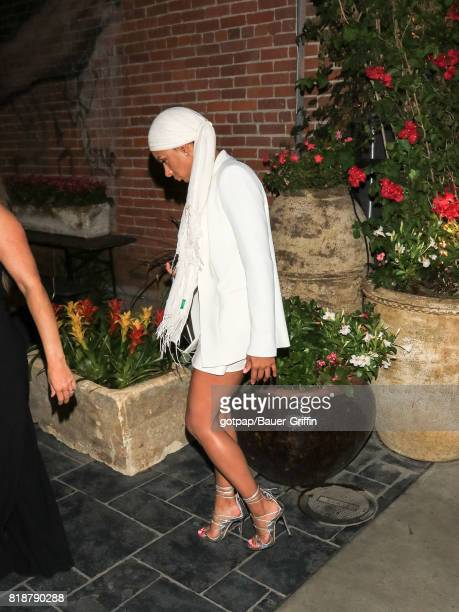 Laura Govan is seen on July 18 2017 in Los Angeles California