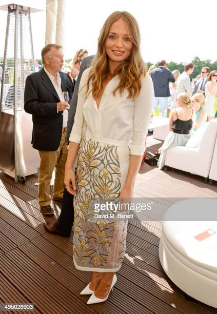 Laura Haddock attends day two of the Audi Polo Challenge at Coworth Park Polo Club on June 1 2014 in Ascot England