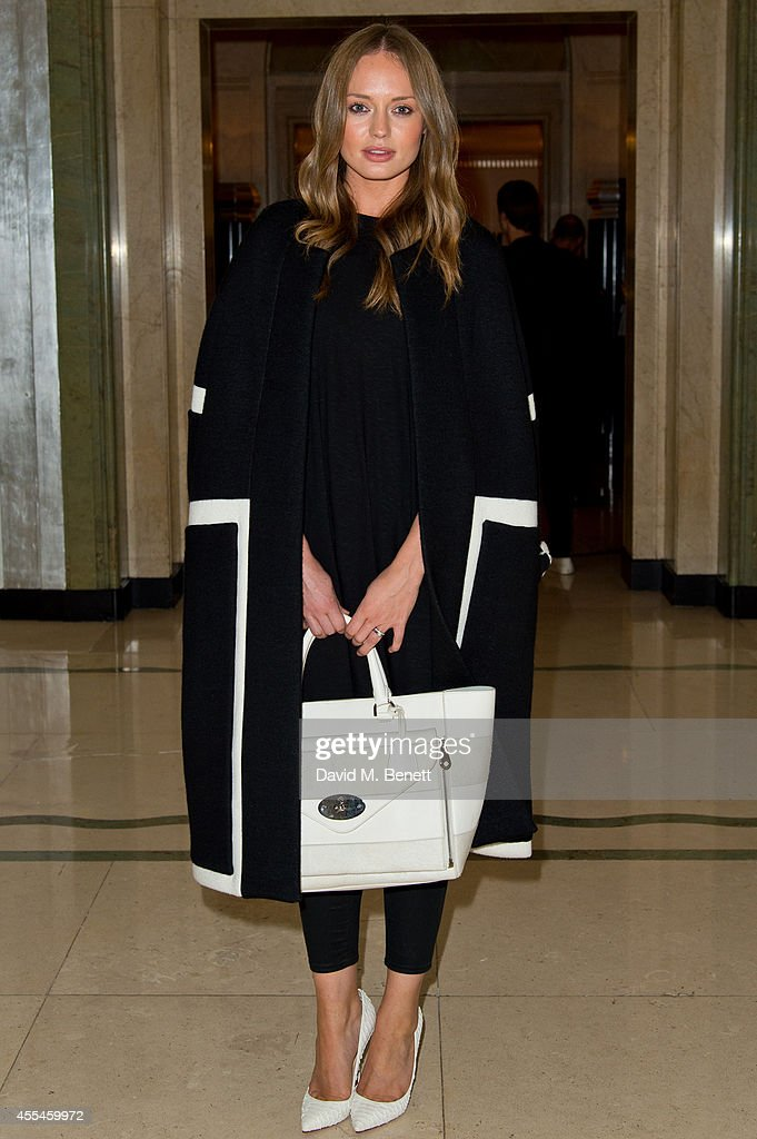 <a gi-track='captionPersonalityLinkClicked' href=/galleries/search?phrase=Laura+Haddock&family=editorial&specificpeople=4949007 ng-click='$event.stopPropagation()'>Laura Haddock</a> attends Pringle of Scotland SS15 show during London Fashion Week at Claridges Hotel on September 14, 2014 in London, England.