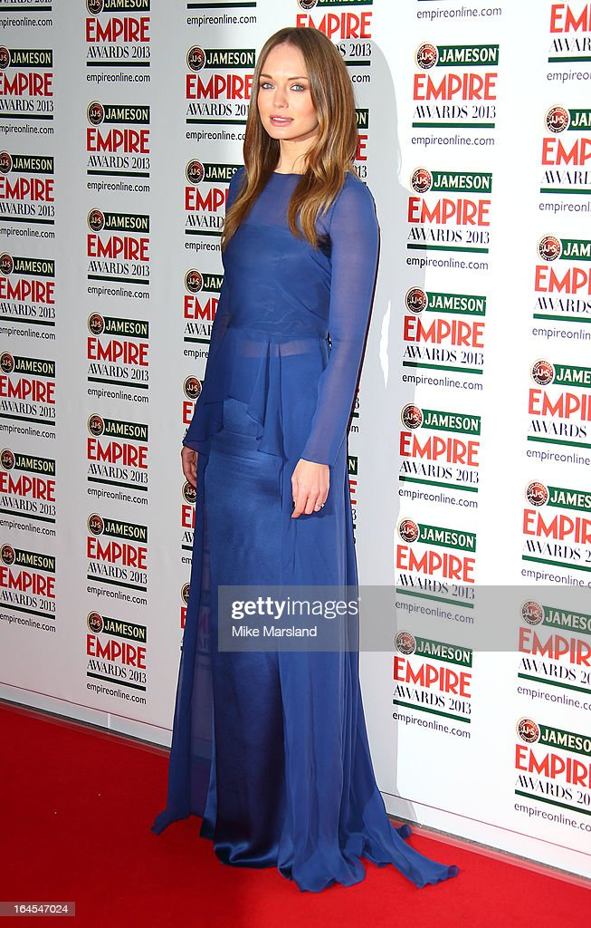 Laura Haddock attends the 18th Jameson Empire Film Awards at Grosvenor House, on March 24, 2013 in London, England.