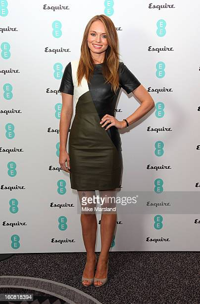 Laura Haddock attends the Bafta Rising Stars party hosted by EE and Esquire ahead of the 2013 EE British Academy Film Awards at The Savoy Hotel on...