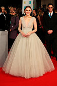 Laura Haddock attends the EE British Academy Film Awards at The Royal Opera House on February 8 2015 in London England