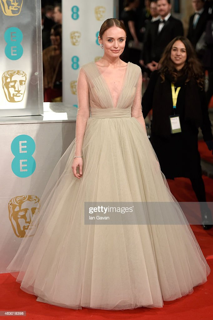 <a gi-track='captionPersonalityLinkClicked' href=/galleries/search?phrase=Laura+Haddock&family=editorial&specificpeople=4949007 ng-click='$event.stopPropagation()'>Laura Haddock</a> attends the EE British Academy Film Awards at The Royal Opera House on February 8, 2015 in London, England.