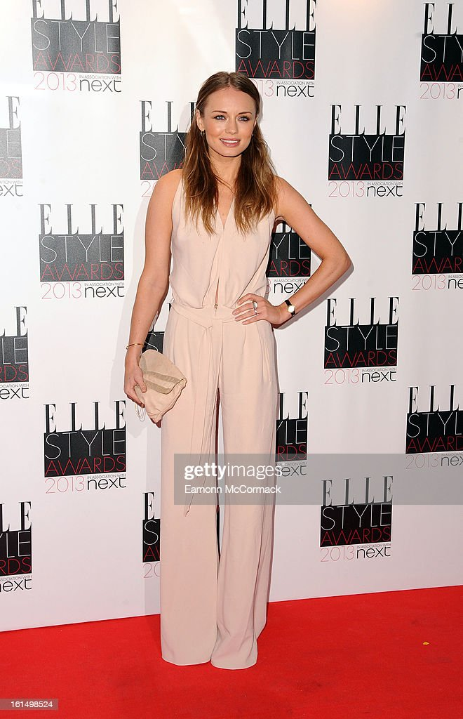 Laura Haddock attends the Elle Style Awards 2013 on February 11, 2013 in London, England.
