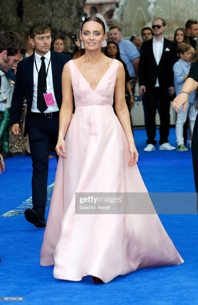 Laura Haddock attends the Global Premiere of 'Transformers: The Last Knight' at Cineworld Leicester Square on June 18, 2017 in London, England.