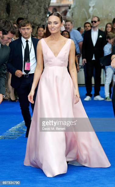 Laura Haddock attends the Global Premiere of 'Transformers The Last Knight' at Cineworld Leicester Square on June 18 2017 in London England