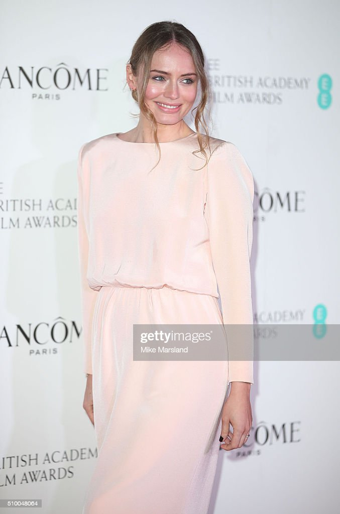 <a gi-track='captionPersonalityLinkClicked' href=/galleries/search?phrase=Laura+Haddock&family=editorial&specificpeople=4949007 ng-click='$event.stopPropagation()'>Laura Haddock</a> attends the Lancome BAFTA nominees party at Kensington Palace on February 13, 2016 in London, England.