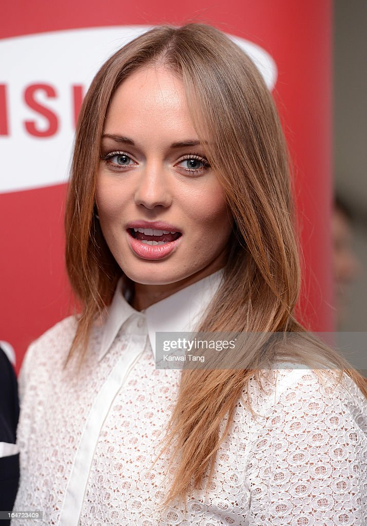 Laura Haddock attends the Prince's Trust Celebrate Success Awards at Odeon Leicester Square on March 26, 2013 in London, England.