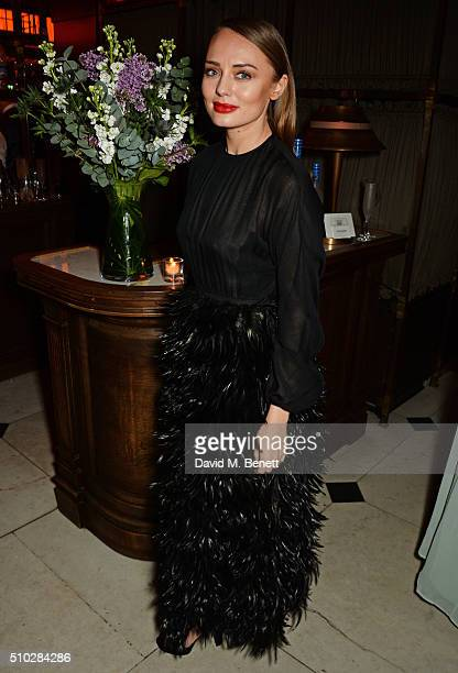 Laura Haddock attends The Weinstein Company Entertainment Film Distributors Studiocanal 2016 BAFTA After Party in partnership with BVLGARI GREY GOOSE...