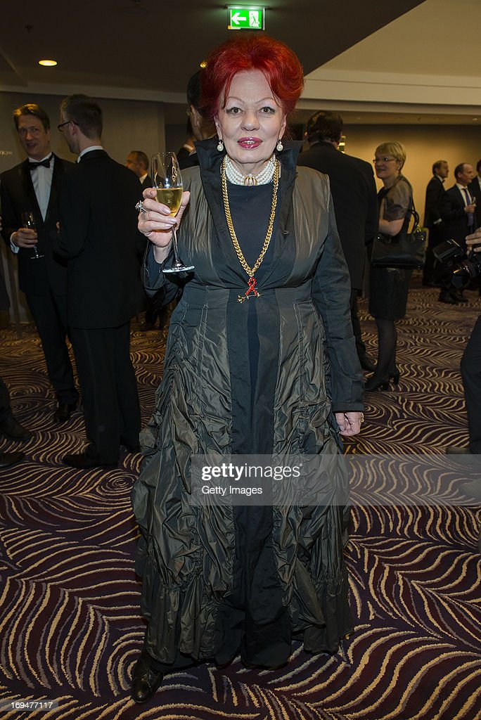 Laura Halding-Hoppenheit attends the 1st Charity Dinner by Federal Trust Fund Magnus Hirschfeld at Waldorf Astoria on May 25, 2013 in Berlin, Germany.