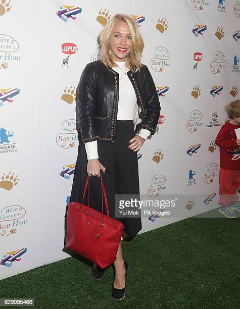 Laura Hamilton attends a screening of We're Going on a Bear Hunt at the Empire Leicester Square in central London