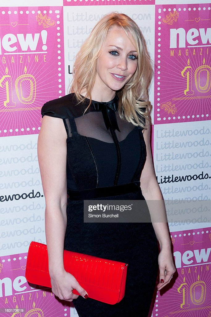 Laura Hamilton attends as New magazine celebrate 10 years in print at Gilgamesh on March 5, 2013 in London, England.