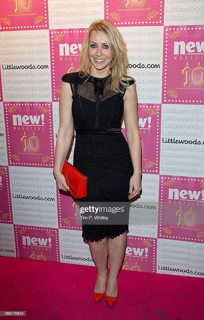 Laura Hamilton attends New Magazine Celebrates 10 years in print at Gilgamesh on March 5, 2013 in London, England.