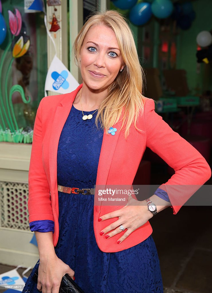 Laura Hamilton attends the Blue Cross tea party on May 8, 2013 in London, England.