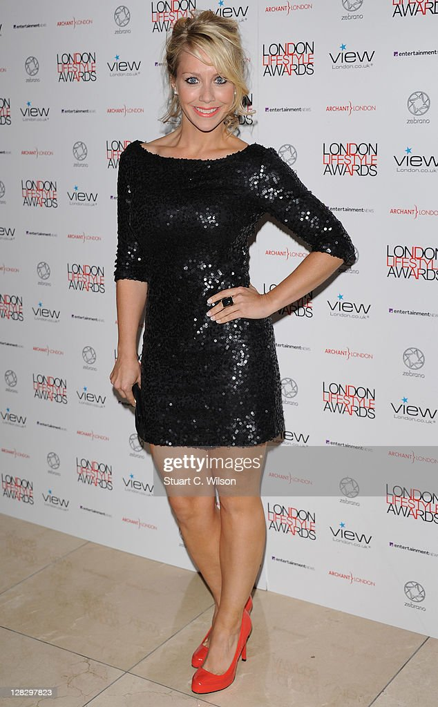 Laura Hamilton attends the London Lifestyle Awards 2011 at Park Plaza Riverbank Hotel on October 6, 2011 in London, England.