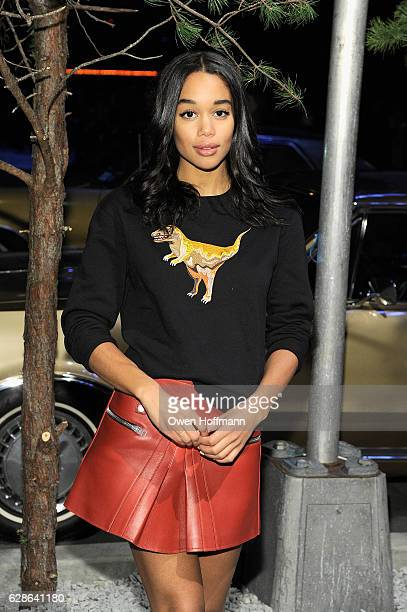 Laura Harrier attends Coach 75th Anniversary Women's PreFall and Men's Fall Show on December 8 2016 in New York City