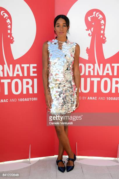 Laura Harrier attends the 'Miu Miu Women's Tales' photocall during the 74th Venice Film Festival at on August 31 2017 in Venice Italy